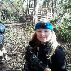 Image of Laser Combat activity at Quex Activity Centre