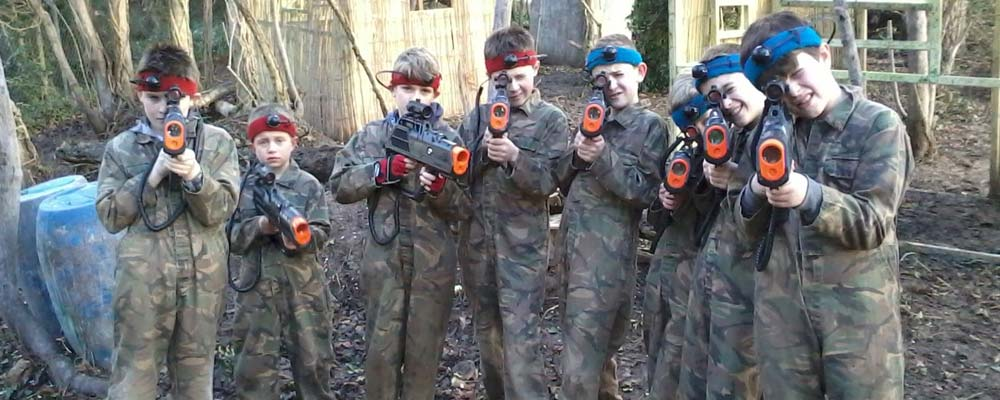 Laser Tag at Quex Activity Centre, Birchington, Thanet