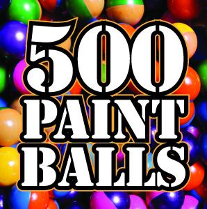 500 paintballs at Quex Activity Centre, Thanet