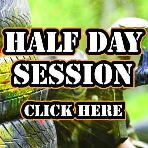 Half Day Paintball Session at Quex Activity Centre, Thanet