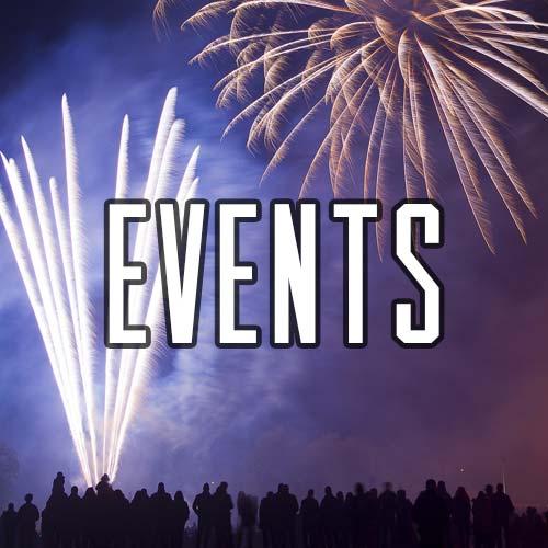 Button for Events at Quex Activity Centre, Quex Park