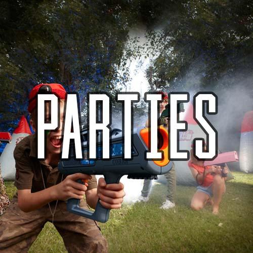 Laser Combat Parties