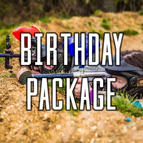 Paintball Kids Birthday Parties at Quex Activity Centre, Thanet