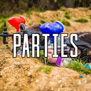 Mini Paintball Parties