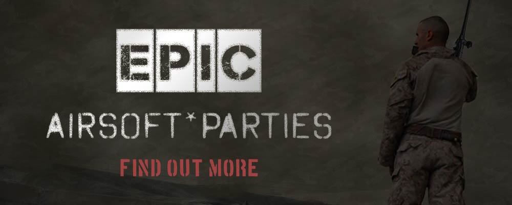 airsoft party banner