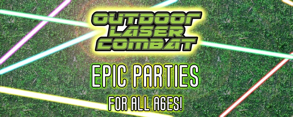 laser party banner