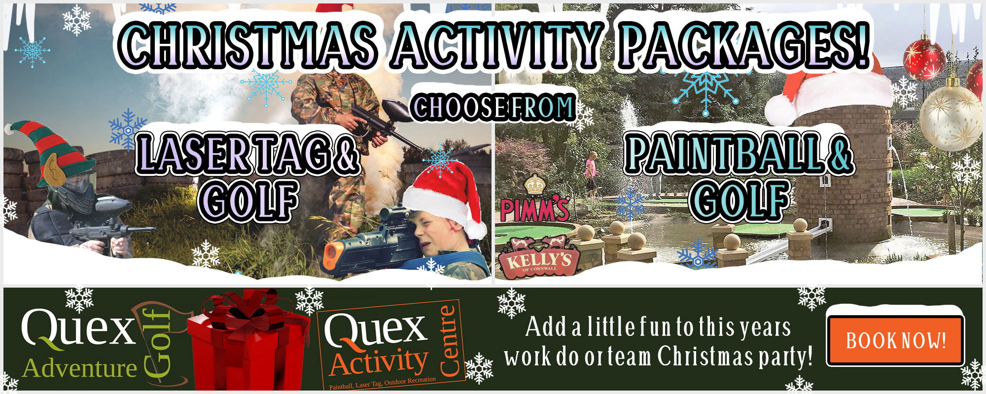 Quex christmas activities at Quex Activity Centre, Thanet