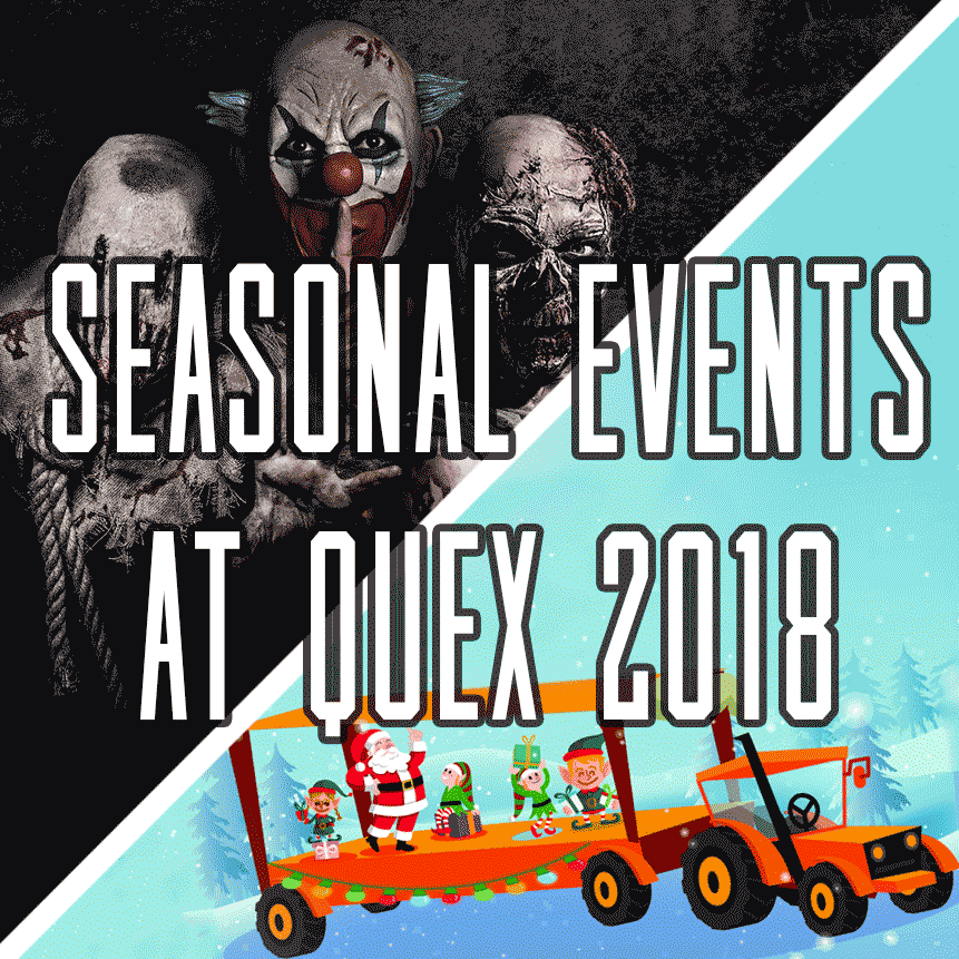 Button for Seasonal Events at Quex Activity Centre, Quex Park