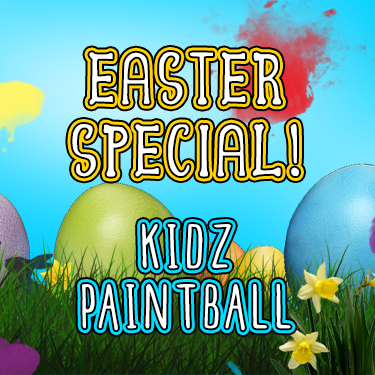 Kidz Paintball Easter Special