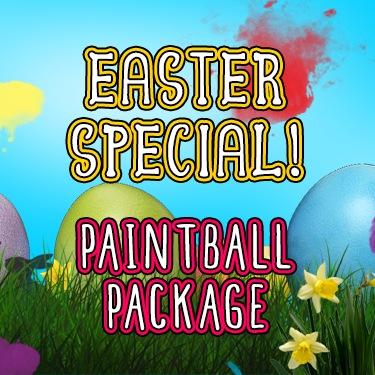 Paintball Package Easter Special