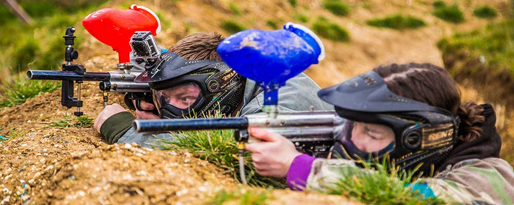 Paintball at Quex Activity Centre, Birchington, Thanet
