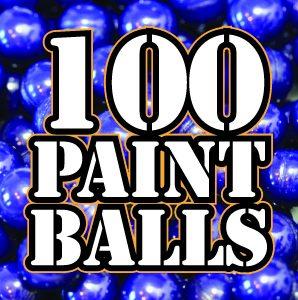 100 paintballs at Quex Activity Centre, Thanet