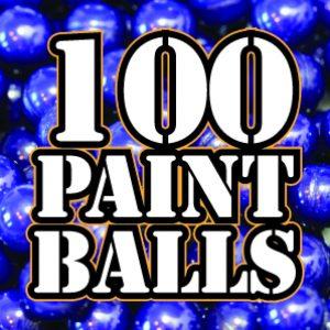 100 Paintballs - £9