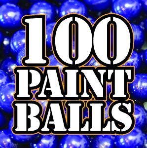 100 paintballs at Quex Activity Centre, Thanet