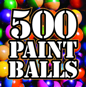 500 paintballs at Quex Activity Centre, Thanet