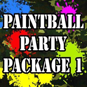 Paintball Birthday Battle