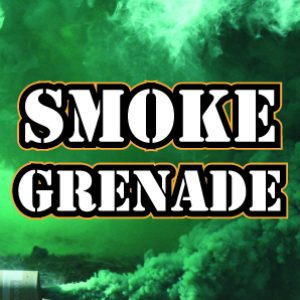 Smoke Grenade at Quex Activity Centre, Thanet