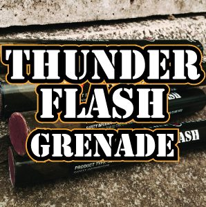 Flash Grenade at Quex Activity Centre, Thanet