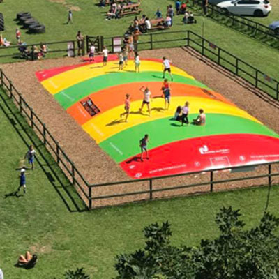 Button for Bounce Activity at Quex Activity Centre, Quex Park