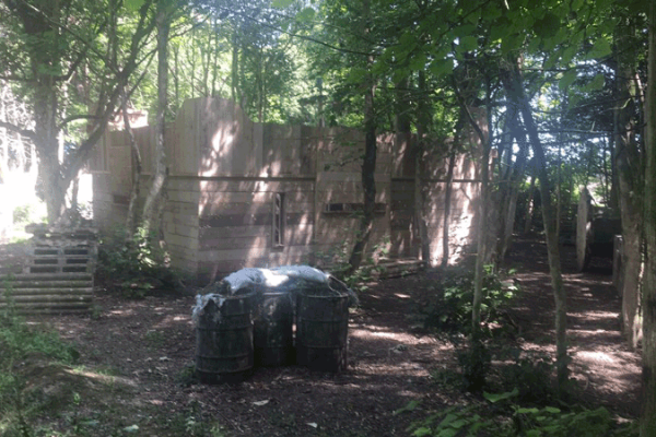 Image of Woodlands Arena at Quex Paintball