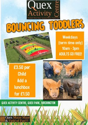 Bouncing Toddlers!